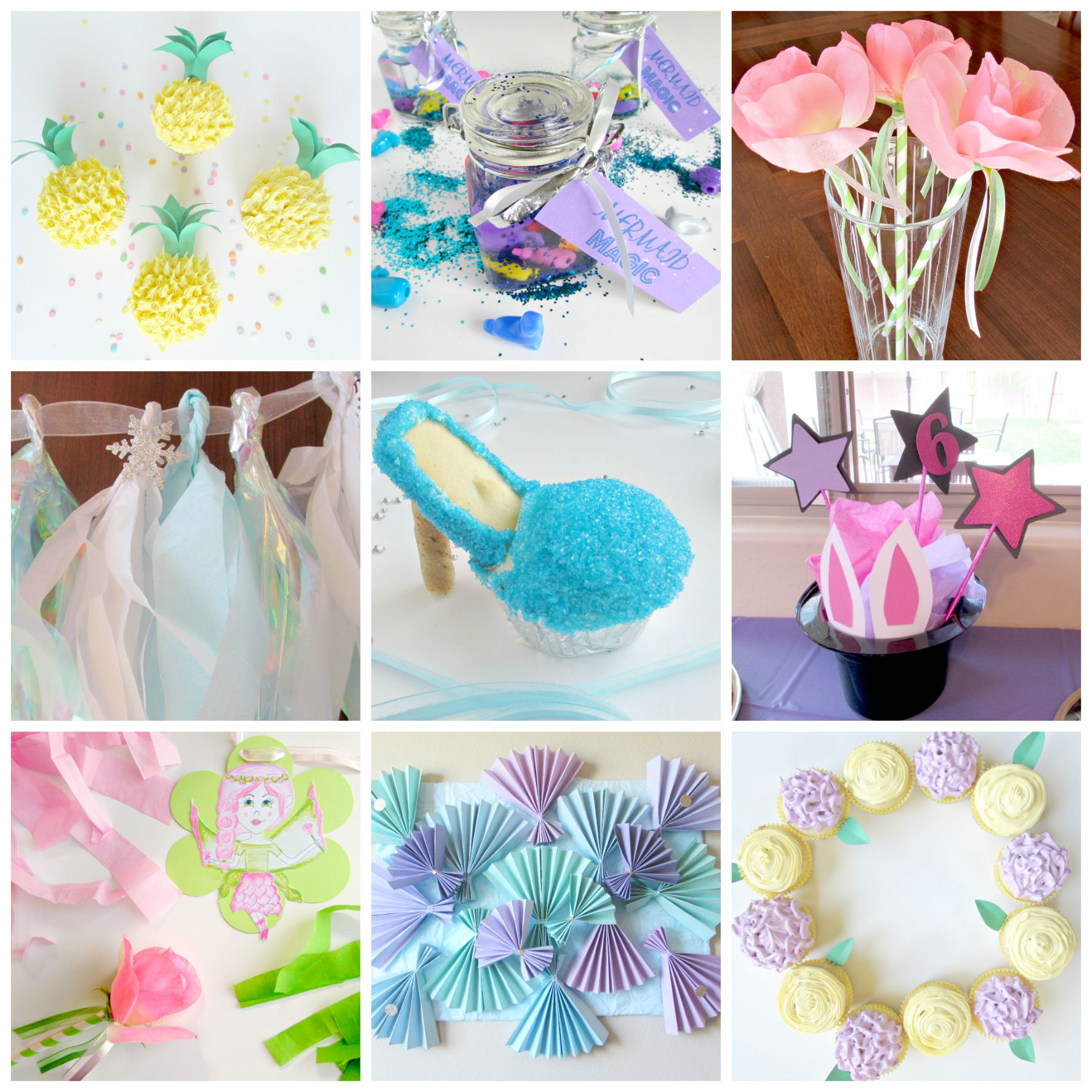 Homemade Parties Diy Cupcakes Party Decorations Val Event Gal