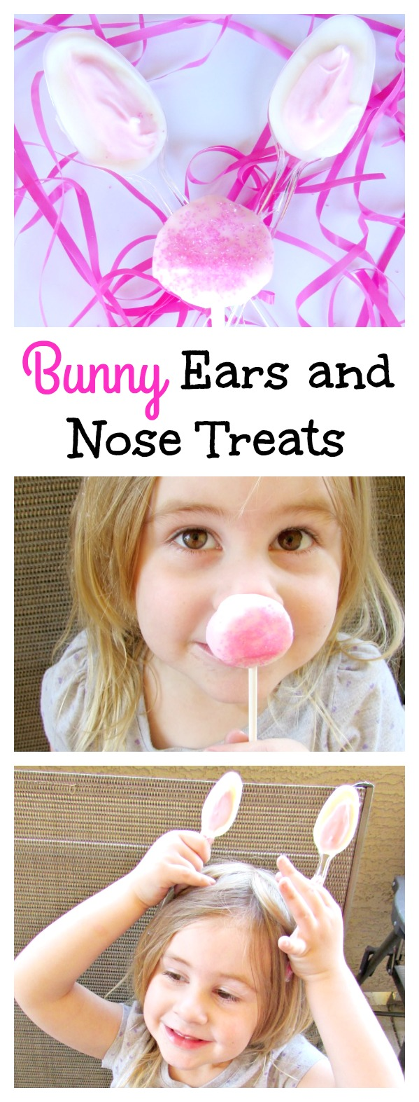 Bunny Ears and Nose Treats