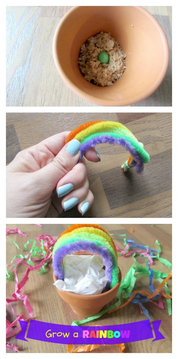 Grow A Rainbow Kids Craft