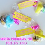 Easter Printables for Peeps and Cadbury Eggs!
