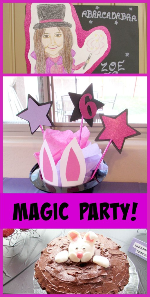 Magic Party Ideas and DIYS - Val Event Gal
