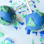 Earth Day Cake Pops!