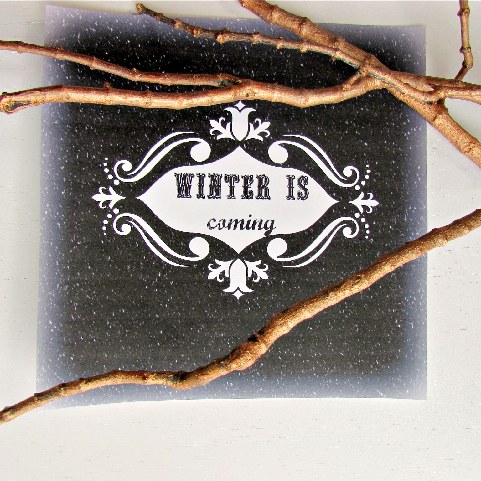 Game of Thrones Printable