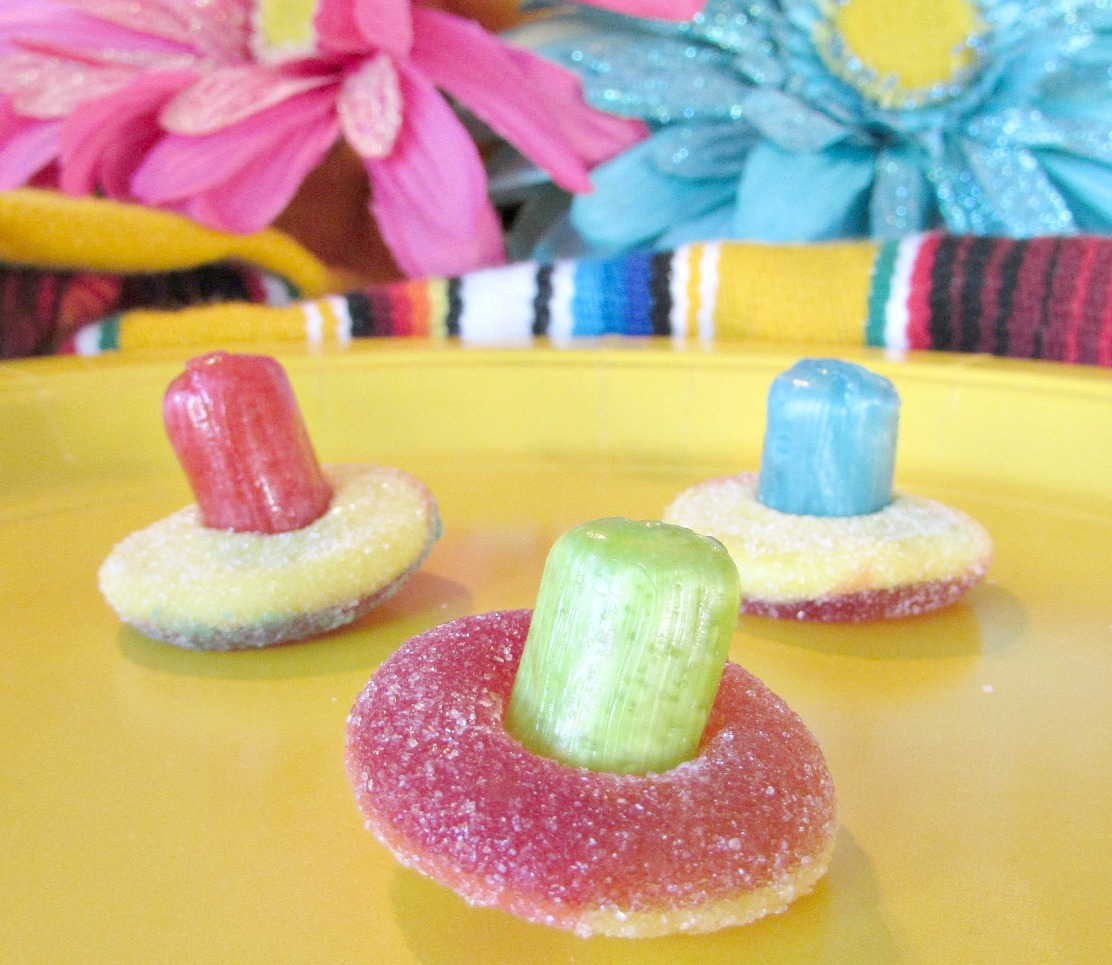 easy sombrero candy