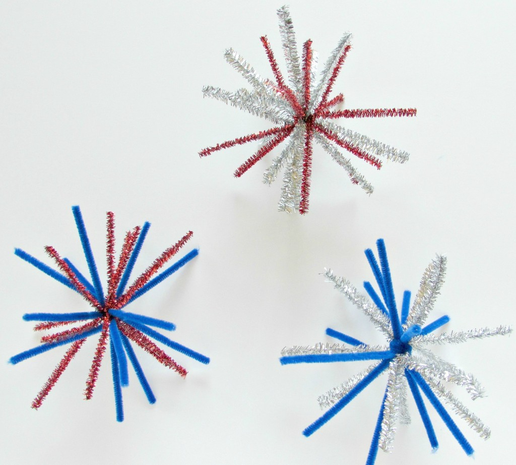 Pipe Cleaner Fireworks