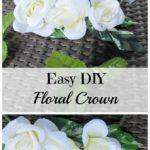 Easy DIY Floral Crown