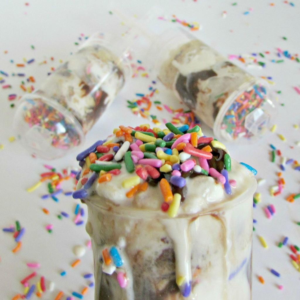 Ice Cream Cookie Push Pops