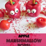 Apple Marshmallow Pops