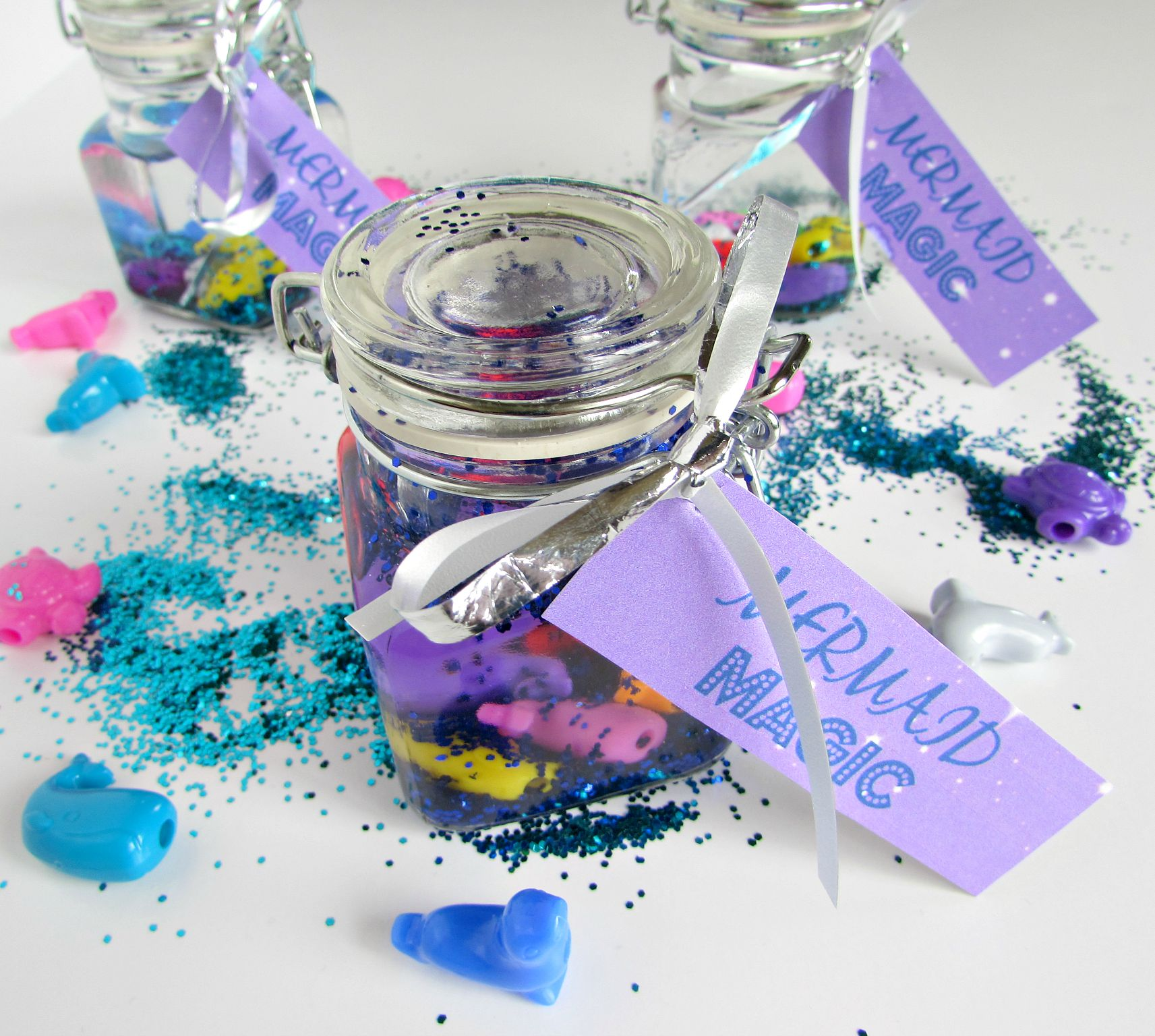 mermaid party favor