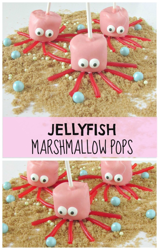 Jellyfish Marshmallow Pops- Val Event Gal
