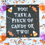 Glow in the Dark Halloween Printable