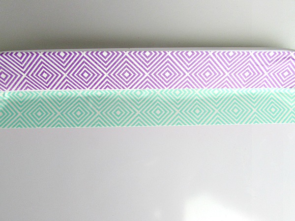 DIY Washi Tape Plate