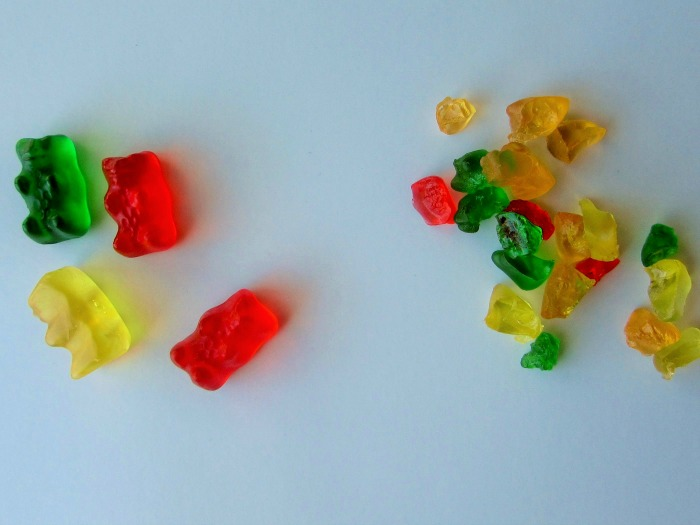 Gummy bears for candy fall treesjpg