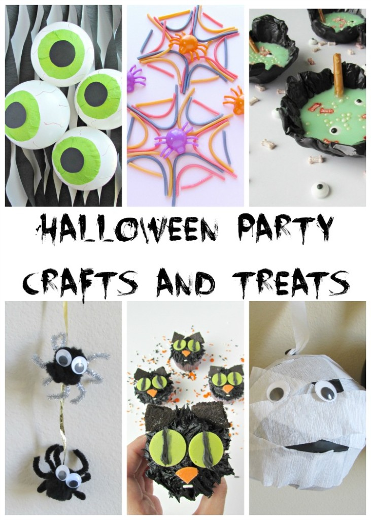 Halloween Party Crafts and Treats