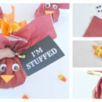 Turkey Treat Bags With Printable Tags
