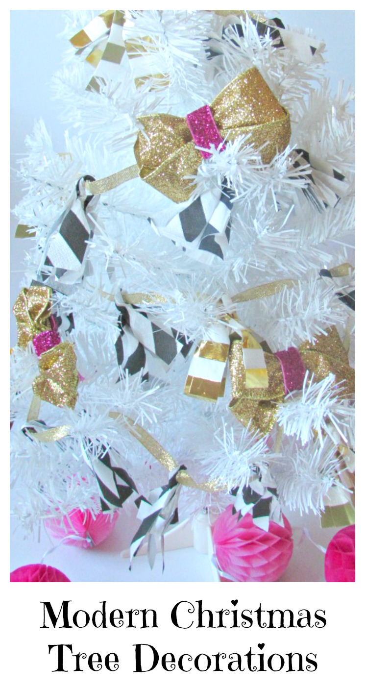 Modern christmas tree decorations val event gal for Modern christmas decorations online