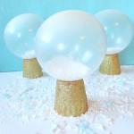 Snow Globe Balloons