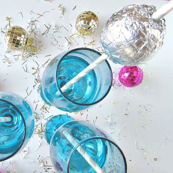 Ball Drop Straws