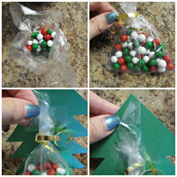 Fill bags and put inside box