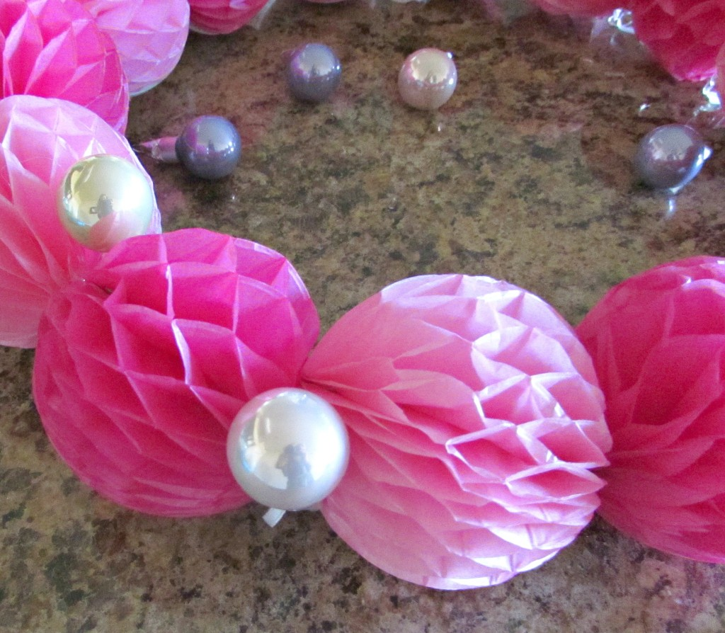 glue ornaments in place