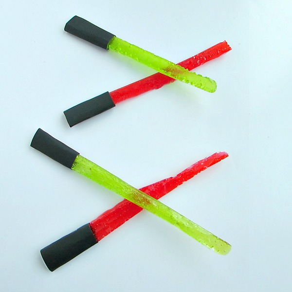 Candy Lightsabers