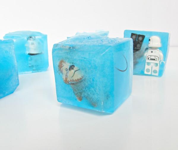 Chewbacca frozen in ice