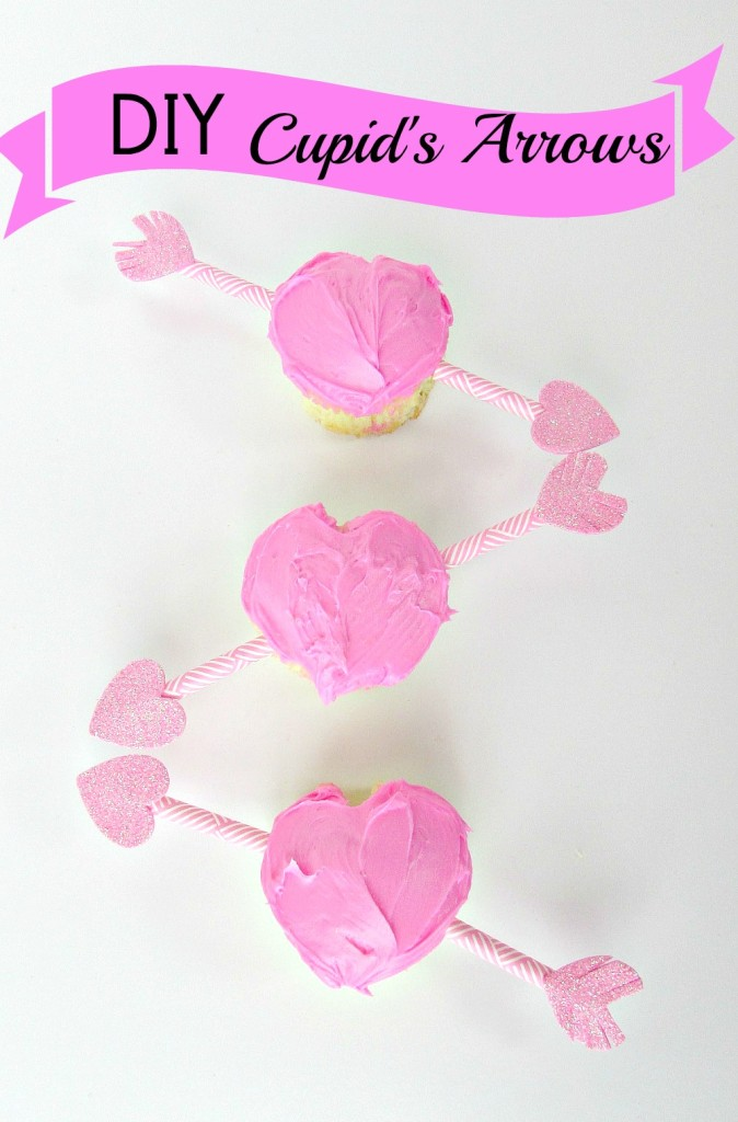DIY Cupid's Arrows are fun for any Valentine's Day food and desserts