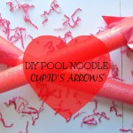 Pool Noodle Cupid's Arrows