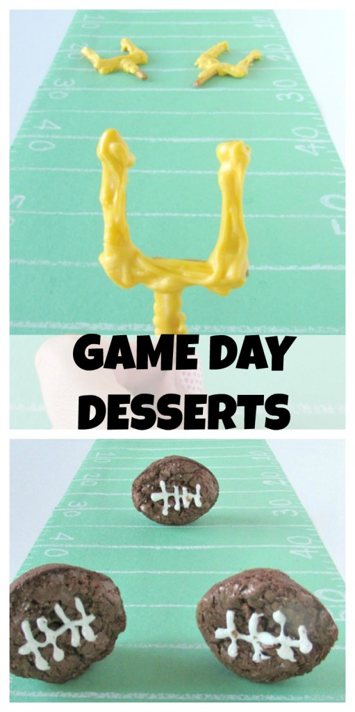 Game Day Desserts for Super Bowl Sunday or a football party
