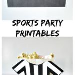 Sports Party Printables