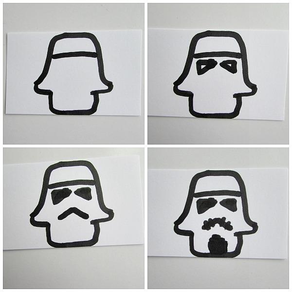 Storm Trooper face