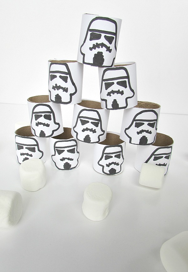 storm troopers and marshmallows