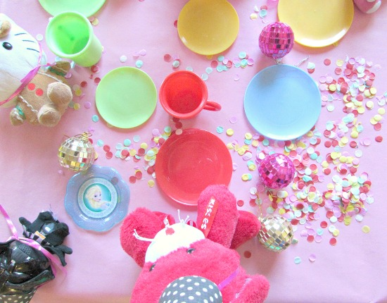 fun and messy tea party