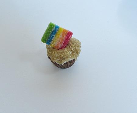 put rainbow on top