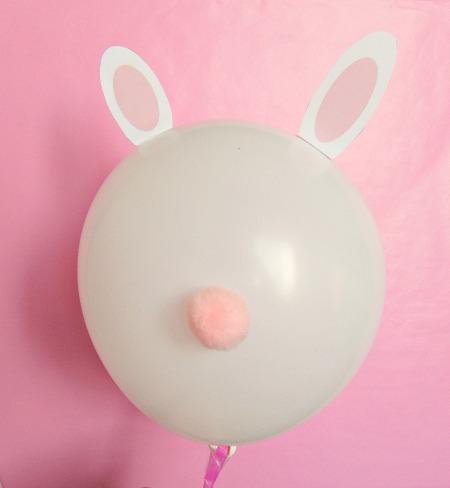Bunny ear balloons