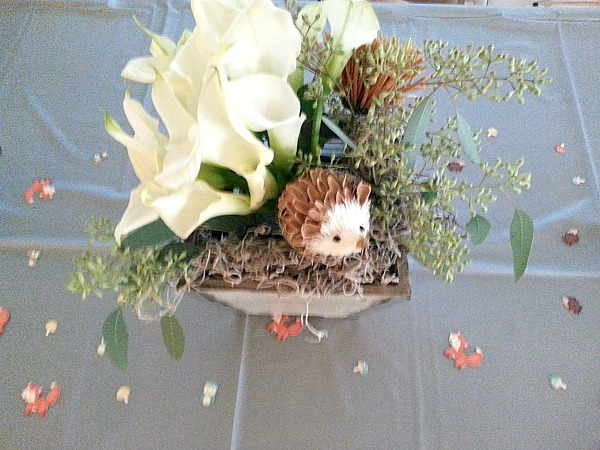 woodland creature centerpiece