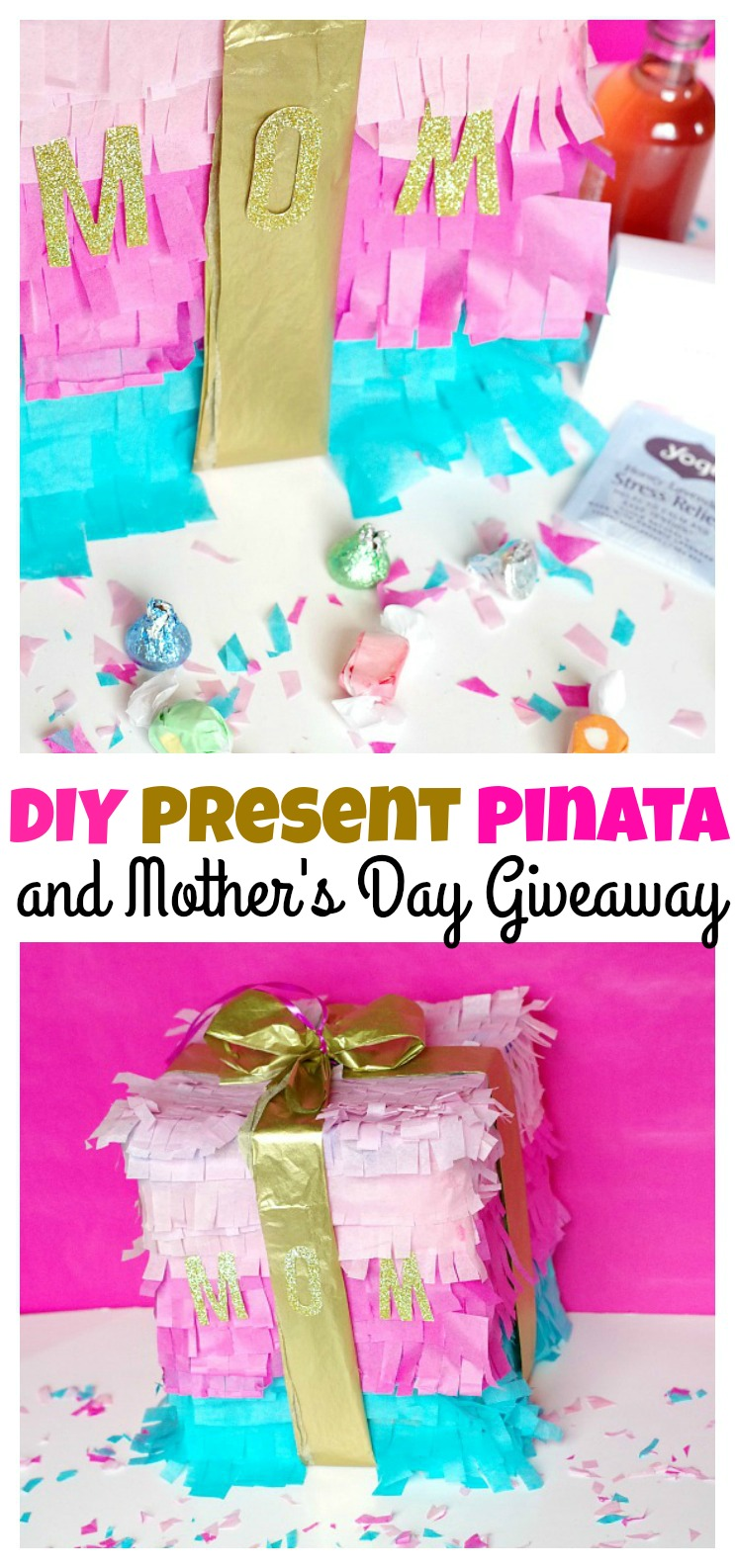 DIY Present Pinata and Mother's Day Giveaway