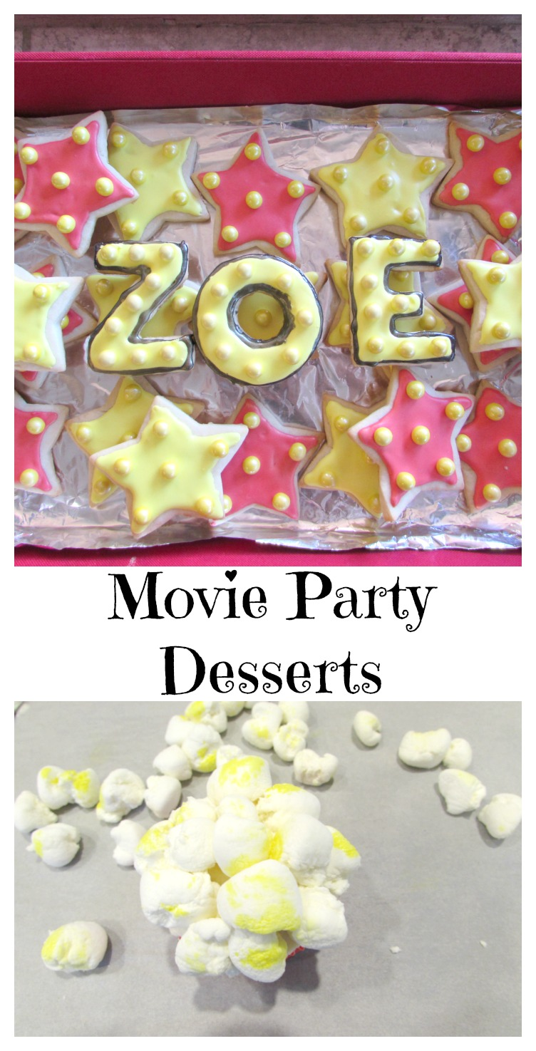 Movie Party Desserts