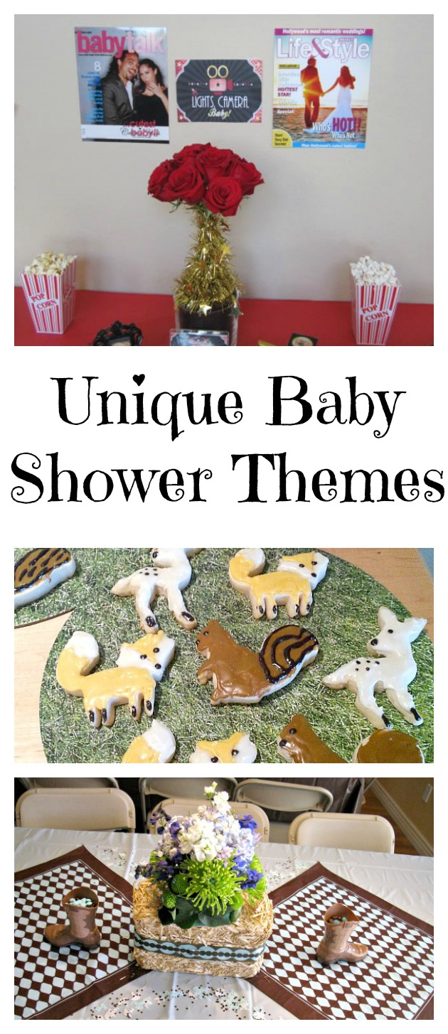 Unique baby shower themes val event gal - Unique girl baby shower themes ...