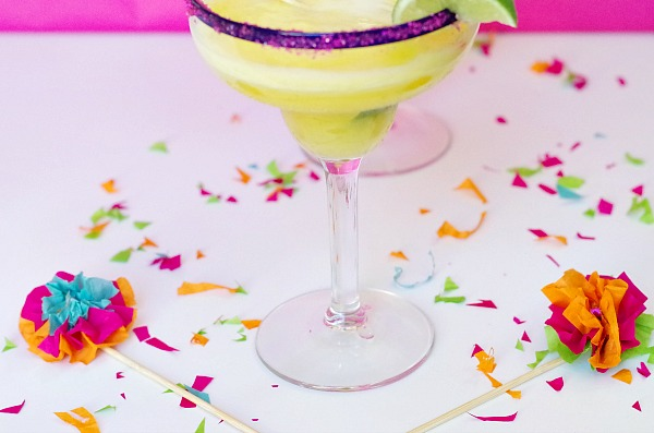 adorable drink stirrers for a fiesta