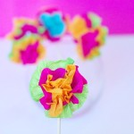 Mexican Flower Drink Stirrers