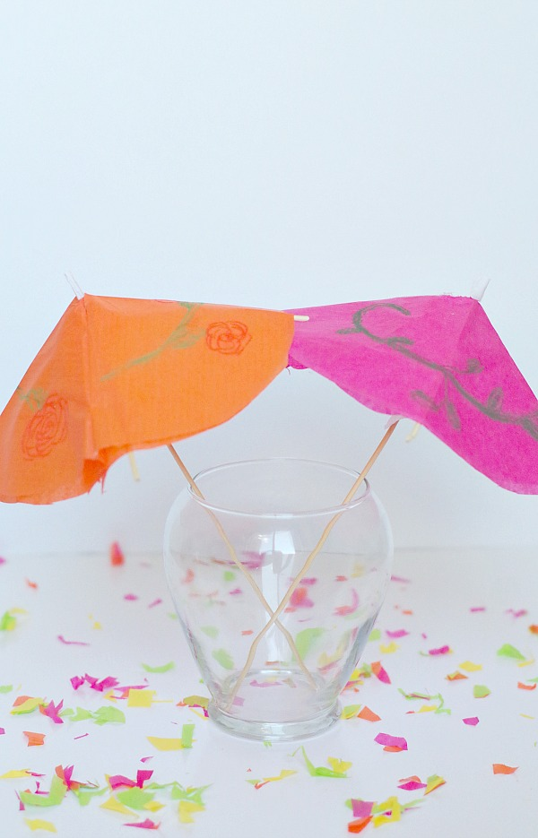 diy large drink umbrellas