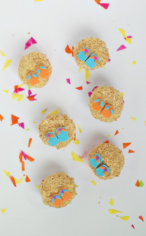 sandal cupcakes