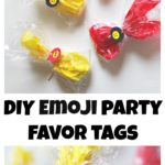 DIY Emoji Party Favor Tags