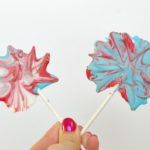 Chocolate Firework Pops