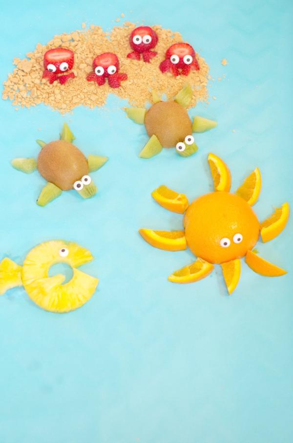 sea animal fruit