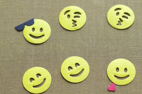 emoji die cuts