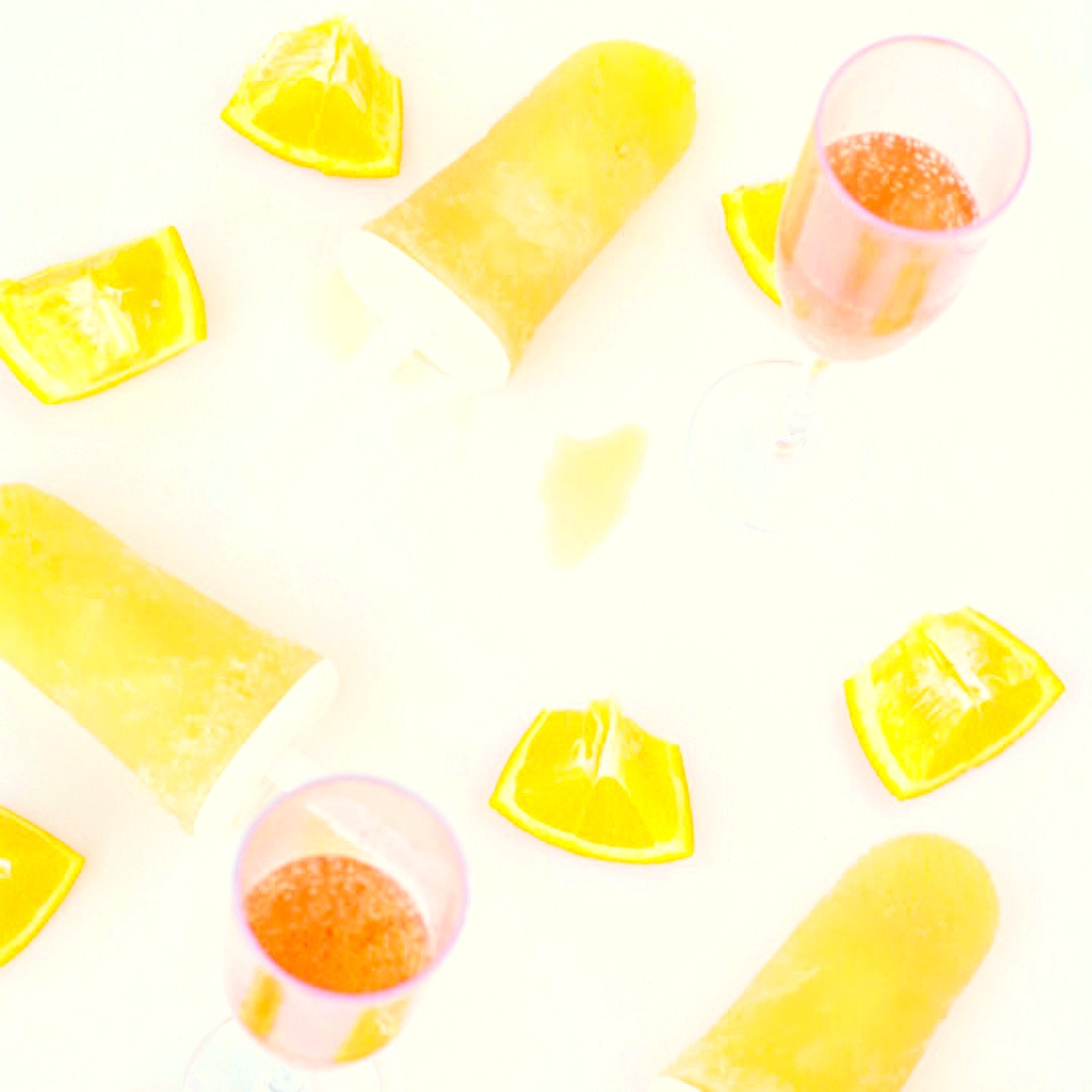 mimosa popsicles for adults