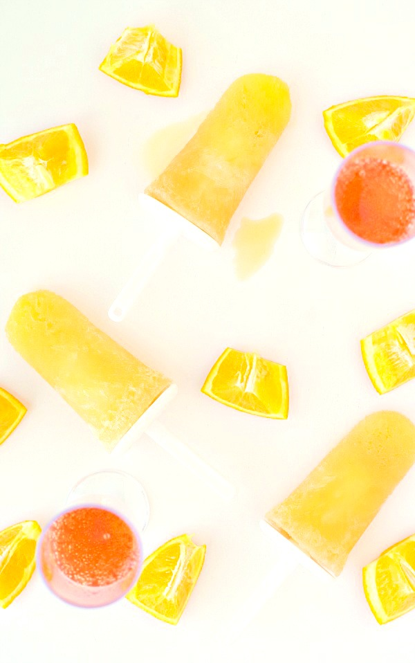 Mimosa adult popsicles