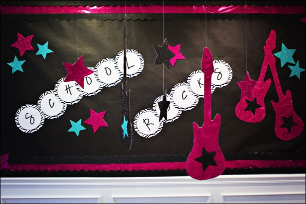 rock star hanging decorations